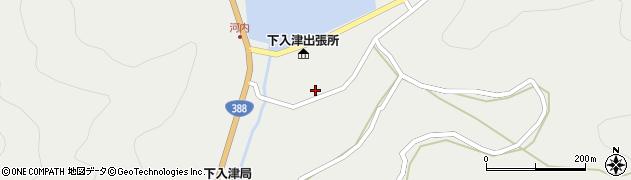 大分県佐伯市蒲江大字竹野浦河内914周辺の地図