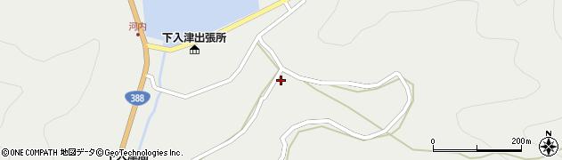 大分県佐伯市蒲江大字竹野浦河内1014周辺の地図