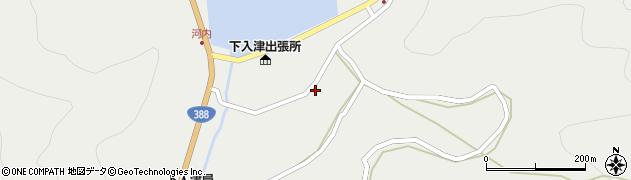 大分県佐伯市蒲江大字竹野浦河内953周辺の地図