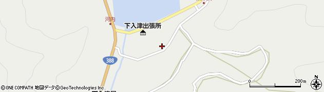 大分県佐伯市蒲江大字竹野浦河内955周辺の地図
