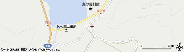 大分県佐伯市蒲江大字竹野浦河内1429周辺の地図