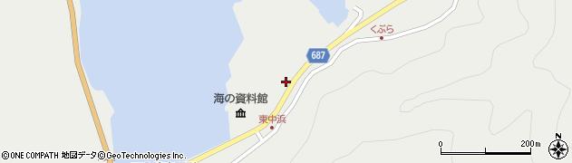 大分県佐伯市蒲江大字竹野浦河内1447周辺の地図