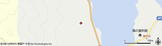 大分県佐伯市蒲江大字竹野浦河内174周辺の地図