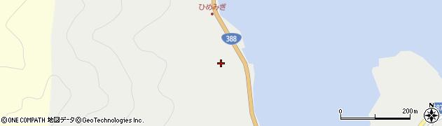大分県佐伯市蒲江大字竹野浦河内162周辺の地図