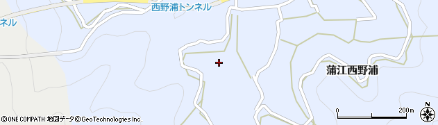 大分県佐伯市蒲江大字西野浦492周辺の地図