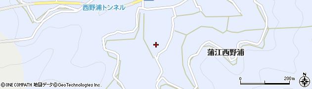大分県佐伯市蒲江大字西野浦453周辺の地図