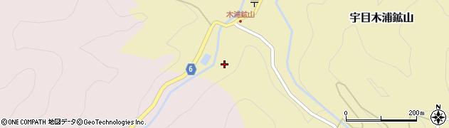 大分県佐伯市宇目大字木浦鉱山703周辺の地図