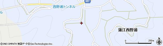 大分県佐伯市蒲江大字西野浦496周辺の地図