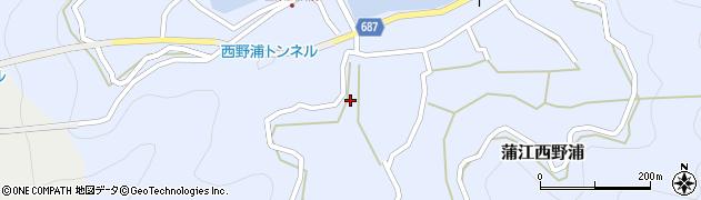 大分県佐伯市蒲江大字西野浦473周辺の地図