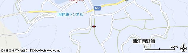 大分県佐伯市蒲江大字西野浦472周辺の地図