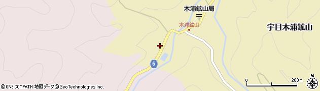 大分県佐伯市宇目大字木浦鉱山343周辺の地図