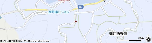 大分県佐伯市蒲江大字西野浦474周辺の地図