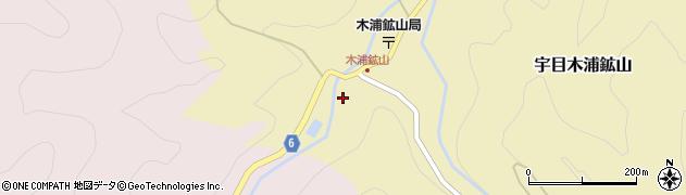 大分県佐伯市宇目大字木浦鉱山466周辺の地図