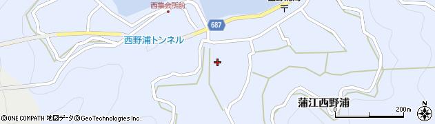 大分県佐伯市蒲江大字西野浦425周辺の地図