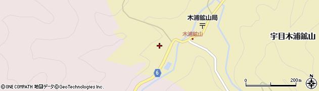 大分県佐伯市宇目大字木浦鉱山355周辺の地図