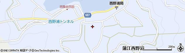 大分県佐伯市蒲江大字西野浦438周辺の地図