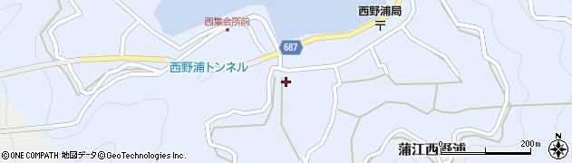大分県佐伯市蒲江大字西野浦414周辺の地図