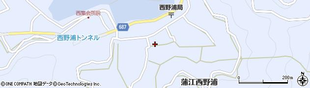 大分県佐伯市蒲江大字西野浦1141周辺の地図