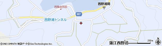 大分県佐伯市蒲江大字西野浦410周辺の地図
