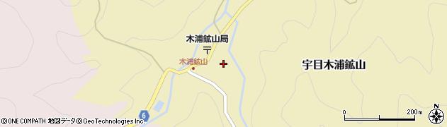 大分県佐伯市宇目大字木浦鉱山424周辺の地図
