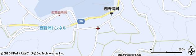 大分県佐伯市蒲江大字西野浦1140周辺の地図