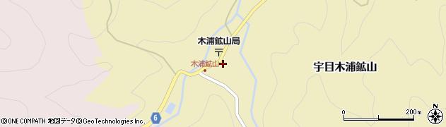 大分県佐伯市宇目大字木浦鉱山417周辺の地図