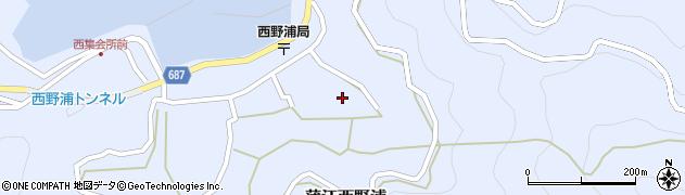 大分県佐伯市蒲江大字西野浦1296周辺の地図