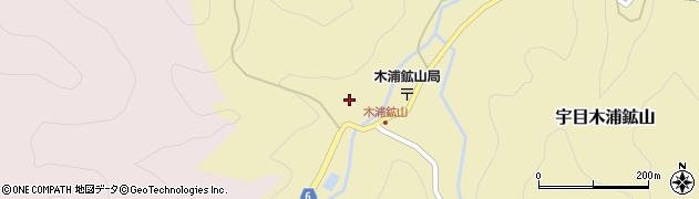大分県佐伯市宇目大字木浦鉱山367周辺の地図