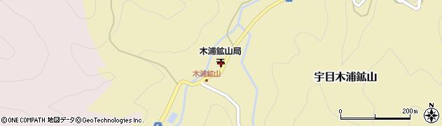 大分県佐伯市宇目大字木浦鉱山403周辺の地図
