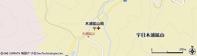 大分県佐伯市宇目大字木浦鉱山420周辺の地図