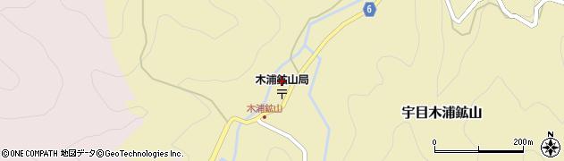 大分県佐伯市宇目大字木浦鉱山399周辺の地図