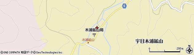 大分県佐伯市宇目大字木浦鉱山385周辺の地図