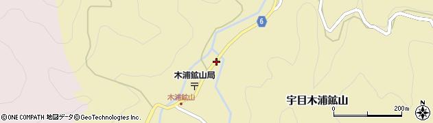 大分県佐伯市宇目大字木浦鉱山388周辺の地図