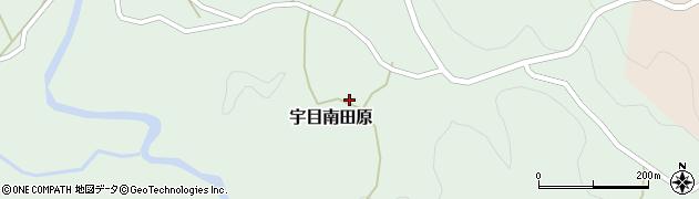 大分県佐伯市宇目大字南田原2992周辺の地図