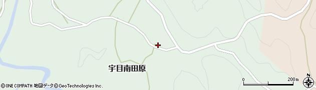 大分県佐伯市宇目大字南田原3055周辺の地図