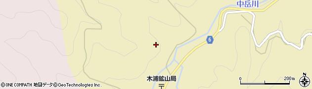 大分県佐伯市宇目大字木浦鉱山375周辺の地図
