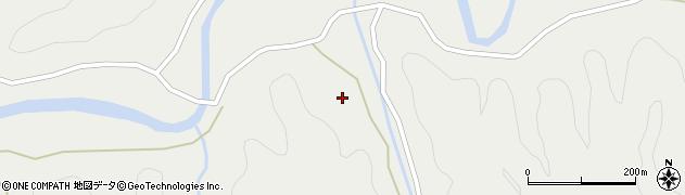 大分県佐伯市宇目大字重岡2665周辺の地図