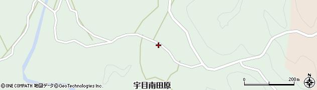 大分県佐伯市宇目大字南田原3050周辺の地図