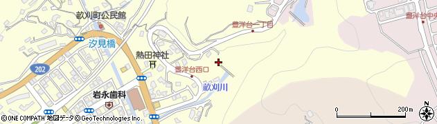 長崎県長崎市畝刈町周辺の地図
