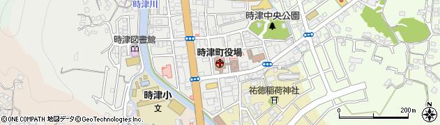 長崎県西彼杵郡時津町周辺の地図