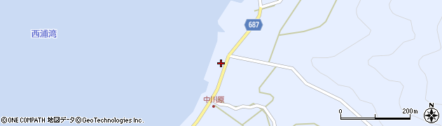 大分県佐伯市蒲江大字西野浦1984周辺の地図