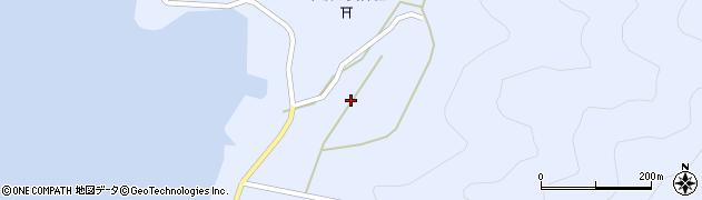 大分県佐伯市蒲江大字西野浦2244周辺の地図
