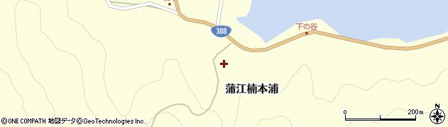 大分県佐伯市蒲江大字楠本浦876周辺の地図