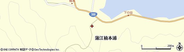 大分県佐伯市蒲江大字楠本浦845周辺の地図