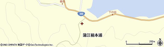大分県佐伯市蒲江大字楠本浦835周辺の地図
