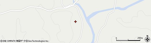 大分県佐伯市宇目大字重岡1246周辺の地図