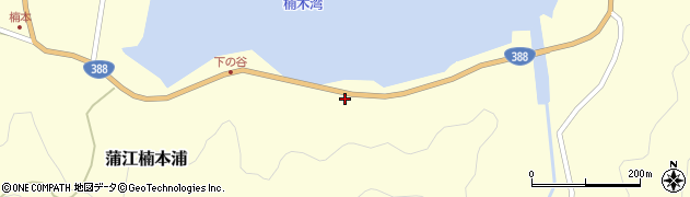大分県佐伯市蒲江大字楠本浦943周辺の地図