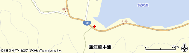 大分県佐伯市蒲江大字楠本浦875周辺の地図