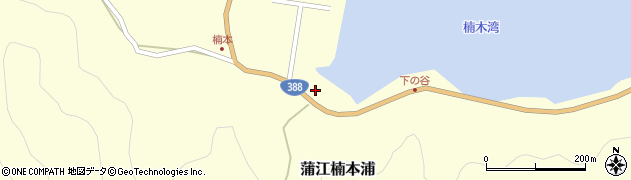 大分県佐伯市蒲江大字楠本浦831周辺の地図