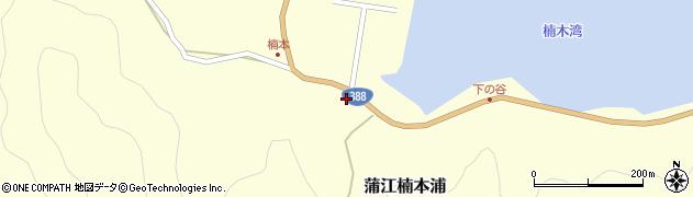 大分県佐伯市蒲江大字楠本浦825周辺の地図